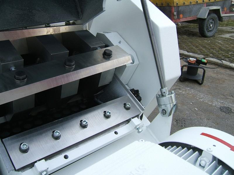 Shredder rotor
