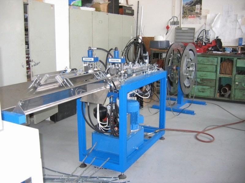 Výrobní linka tvarování pásky