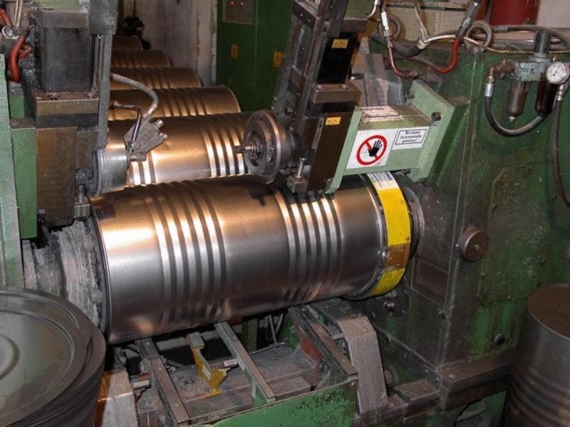 Výrobní linky, linka na výrobu sudů