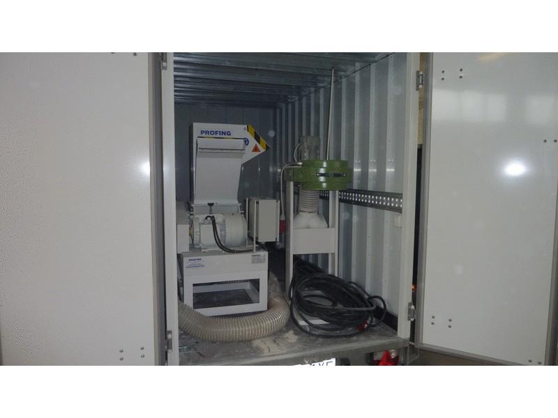Mobilní drtící soustava v kontejneru
